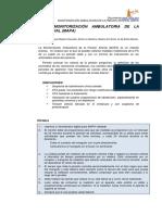 AYUDA RAPIDA MONITORIZACION AMBULATORIA DE PRESIÓN ARTERIAL _MAPA_PDF