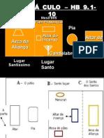 TABERNÁCULO - SANTO DOS SANTOS