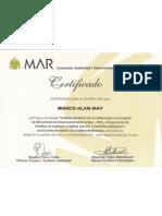 Certificado Curso CO2