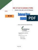 ICAI User Manual
