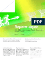 Shopleiter Magazin Nr. 2 - Mai 2010 :