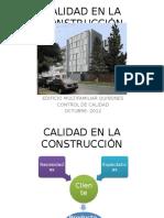 Calidad en La Construcción - Mauricio Leon Tejada