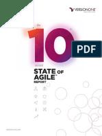 VersionOne 10th Annual State of Agile Report