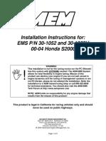 10-1052 for EMS - 30-1052