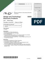 Question Paper 2012 2
