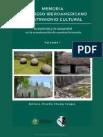 Congreso Iberoamericano de Patrimonio Cultural-Vol1