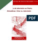 El Model de Television en Pedro Almodovar