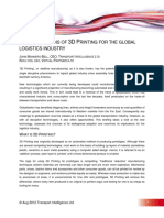 The Impact of 3D Printing on Global Supply Chains
