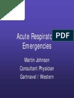 Emergency Respiratory Gla UK