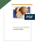 Lanalyse Des Farines