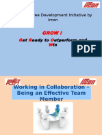 Working in Collaboration – Being an Effective Team 07022015