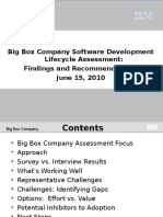 Big Box Co Assessment Findings