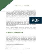 Perbedaan Statistik Parametrik Dan Statistik Non