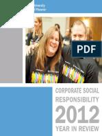 2012 Apollo Group CSR Report