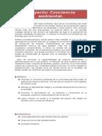 Proyecto Conciencia Ambiental