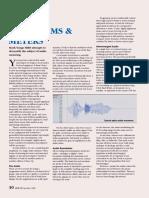 Audio Waveforms and Meters
