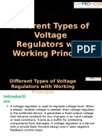 Different Types of Voltage Regulators with Working Principle.pptx