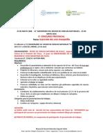 """Reglamento Concurso del """"AVE CHAQUEÑA"""""""