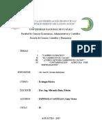 Ecologia Basica- Informe Linn Victor