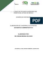 Cuadernillo Apuntes de ESTADISTICA II
