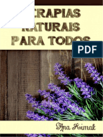 e Book Terapia Natural Para Todos Ana Kimak 2016
