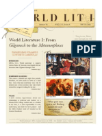 World Literature I Syllabus