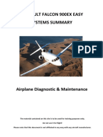 F900EX-Airplane Diagnostic and Maintenance