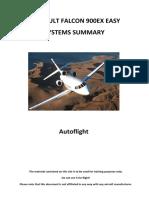 F900EX-Autoflight