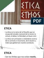 El Valor de La Etica