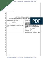 Dismissal Stetson Antitrust Case BARBRI