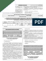 Invalidez de acto eleccionario (Precedente)