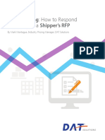 How to Respond Effectively to a Shippers RFP