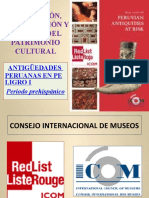 VALORACIÓN, CONSERVACIÓN Y DEFENSA DEL PATRIMONIO CULTURAL