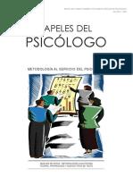 Papeles del Psicólogo Monográfico Metodología.pdf