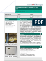 MeasurIT Flexim G704 Application Medium Pressure Net 0906