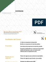 Ppt Sesion i Curso Proyectos de Inversion