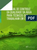 Manual Controle Qualidade Agua Tecnicos de ETAs FUNASA 2014