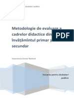 Ro 2795 Metodologie de Evaluare a Cadrelor Didactice2