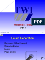 Ultrasonic testing for lvl 1 & 2 vol.1