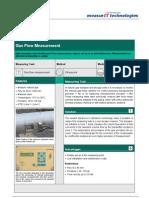 MeasurIT Flexim G800 Application Gas Flow Measurement 0906