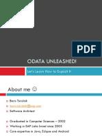 OData Unleashed