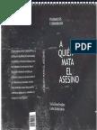 A Quien Mata El Asesino - Silvia Tendlarz y Carlos García