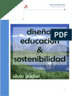 Diseno Educacion y Sosteniblidad