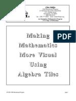 Make Math Visual w Alg Tiles