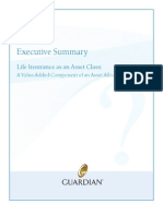 Executive Summary - Life Insurance as an Asset Class
