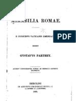 Mirabilia Romae, ed. G. Parthey, Berlin 1869