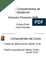 Presentacion - Complementos Geotecnia - Introduccion