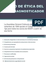 . a.d.e.i.p.codigo de Etica Del Psicodiagnosticador