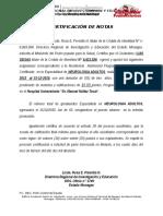 Certificacion de Notas Luis Seijas