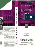 Fustel De Coulanges Numa Denys - La Ciudad Antigua Scan.pdf